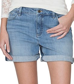 Chaps® Cuffed Denim Shorts