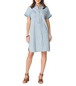 Chaps® Popover Denim Dress