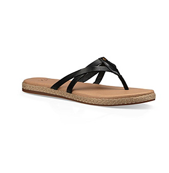 7fb6a4a5eeaab UPC 190108392555 product image for Ugg Womens 1017616 White Flip Flops Size  10 (393020) UPC 190108392555 product image for UGG® ...
