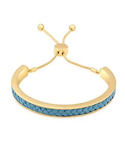 GUESS Braided Inlay Friendship Bracelet
