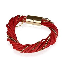 GUESS Cord And Chain Magnetic Bracelet