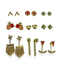 GUESS Nine Pair Earring Set