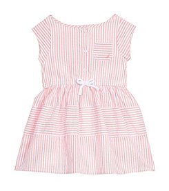 Nautica® Girls' 2T-6X Striped Oxford Dress