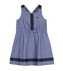 Nautica® Girls' 2T-6X Chambray Dress