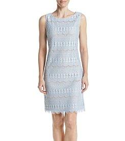 Jessica Howard® Lace Shift Dress