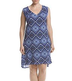 Studio Works® Plus Size Printed Dress