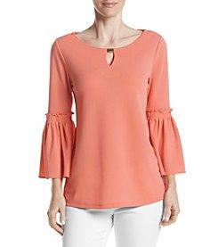 Calvin Klein Bell Sleeve Blouse