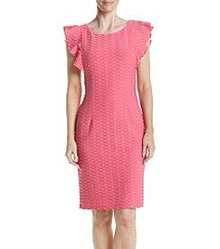 Adrianna Papell® Wavy Textured Shift Dress