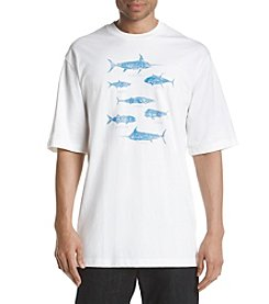 Izod® Schooled Fish Graphic Tee
