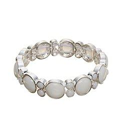 Napier® Circle Link Stretch Bracelet