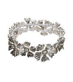 Napier® Flower Stretch Bracelet