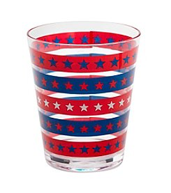 LivingQuarters American Double Old Fashion Glass