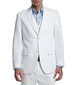 Perry Ellis® Men's Linen Cotton Twill Suit Jacket