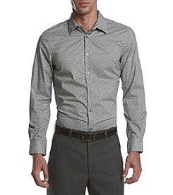 Perry Ellis® Men's Two Color Paisley Shirt