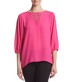 Chaus® Mid Sleeve Blouse