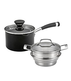 Circulon® Acclaim Nonstick 2-Quart Straining Steamer Set