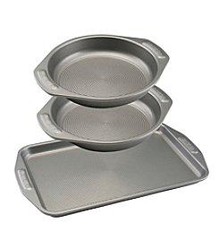 Circulon® Nonstick Bakeware 3-Piece Cookie and Cake Set