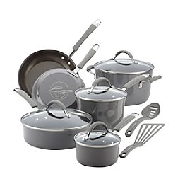 Rachael Ray® Cucina Hard Porcelain Enamel Nonstick 12-Piece Cookware Set