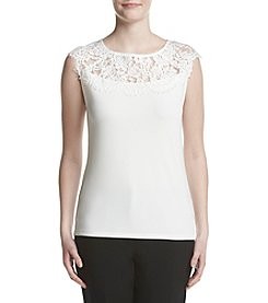 Kasper® Lace Top