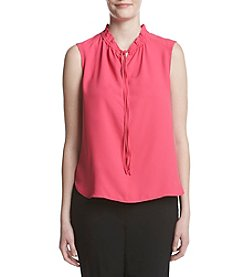 Nine West® Tie Neck Blouse