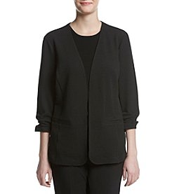 Studio Works® Ruched Sleeve Jacket