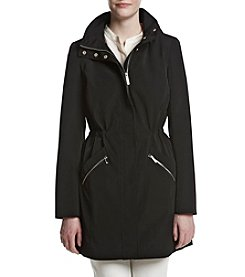 Ivanka Trump® Zip Pocket Trench Coat