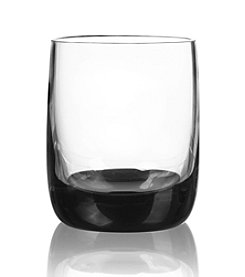 Qualia Ebony Set of 4 Double Old Fashioned Glasses