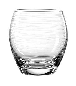 Qualia Graffiti Set of 4 Double Old Fashioned Glasses