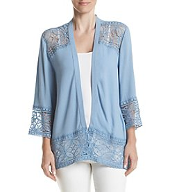 Studio Works® Lace Open Front Jacket
