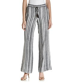 Jones New York® Striped Drawstring Pants