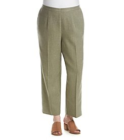 Alfred Dunner® Plus Size Stretch Waistband Pants