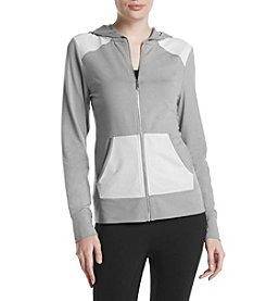 Ivanka Trump Athleisure® Hooded Full Zip Athletic Jacket