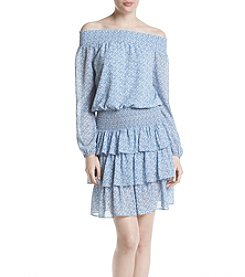 MICHAEL Michael Kors® Off Shoulder Printed Dress
