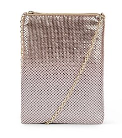 Jessica McClintock® Gina Top Zip Mesh Crossbody