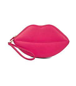 Jessica McClintock® Kissing Lips Wristlet
