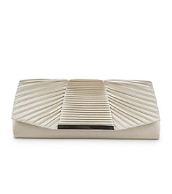 Jessica McClintock® Belinda Pleated Satin Clutch