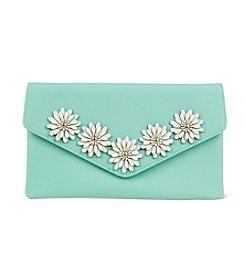 Jessica McClintock® Arielle Flower Applique Clutch