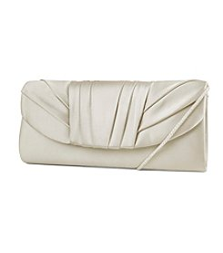 Jessica McClintock® Soft Sparkle Tuck Pleat Clutch