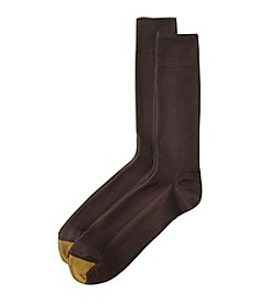GOLD TOE® Comfort Top Nylon Crew Socks