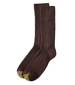 GOLD TOE® Comfort Top Rayon Crew Socks