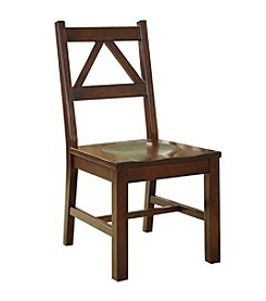 Linon Home Decor Products, Inc. Titian Antique Tobacco Chair