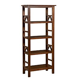 Linon Home Decor Products, Inc. Titian Rustic Bookcase