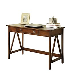 Linon Home Decor Products, Inc. Titian Tobacco Desk