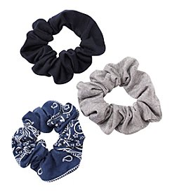 Fantasia Accessories 3-Pack Scrunchie Set