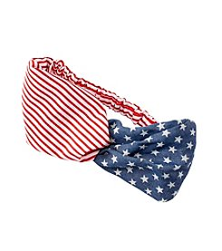 Fantasia Accessories Stripe And Star Twist Headband
