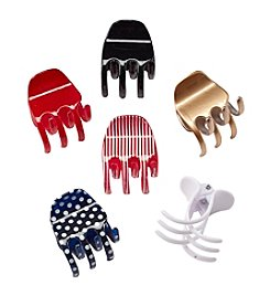 Fantasia Accessories 6-Pack Large Hair Clips