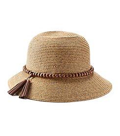 August Hats Globe Trotter Cloche Hat