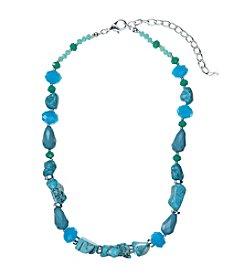 Napier® Single Row Beaded Collar Necklace