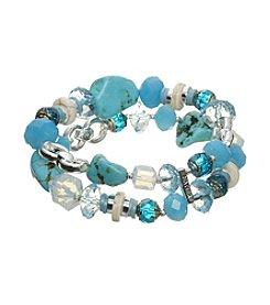 Napier® Beaded Stretch Bracelet