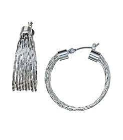Napier® Layered Hoop Earrings